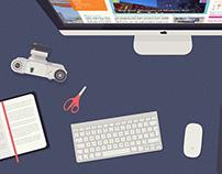 Various websites