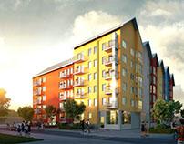Skogsfalken apartment by Riksbyggen