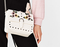 Embroidery bags for Bershka Summer collection