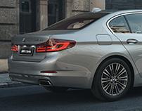 BMW 5 Series Long | CGI