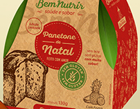 Panetone & Chocotone Packaging, for BemNutrir.