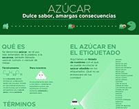 AZÚCAR - Infografía | SUGAR - Infographic