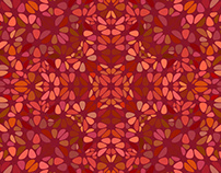 FREE Vector: Colorful Floral Pattern Web Background