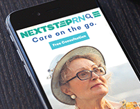 NextStep RN Brand Identity & Collateral
