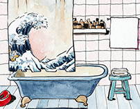 Illustrations for Edition sonore: La Maison