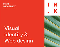 INK agency Visual identity & Web design
