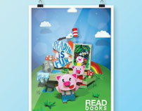 Paper Craft Poster: Tribute to Children's Books
