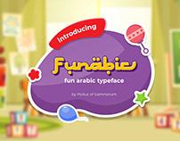 Funabic - Fun Arabic Style Typeface