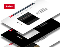 Amica IN Promotion website