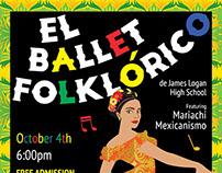 El Ballet Folklorico Poster