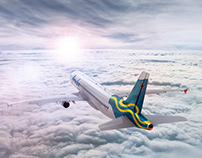 ARUBA AIRLINES 3D & ILSUTRATION