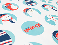 Christmas Branding for Prints With Feelings