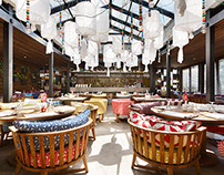 KARE VERANDA eastern-caucasian restaurant. Izhevsk 2015