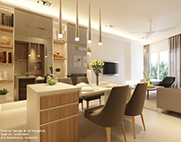 ID: Living & Dining, AraGreens Residences