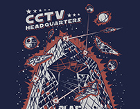 CCTV Headquarters for Plastered 8