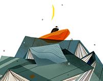 企鹅日历2020插画 Penguin 2020Calendar Illustration Design