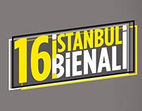 16.İstanbul Bienali - Afiş & Poster çalışması