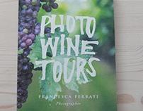 Photo Wine Tours // brochure