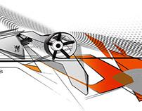 Concept Graffiti Car Experiment