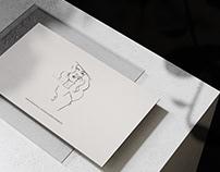 stride.f business card design
