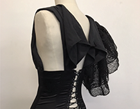 Noir Reconstruction & Pleating at Paris College of Art