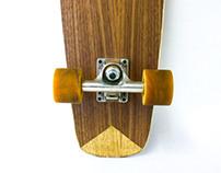 Handmade Skateboard – Ian