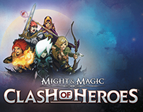 Might & Magic: Clash of Heroes | UI Artwork