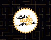 Sáltate la cola Webpay