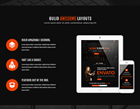 Rients-Creative | one page psd Template