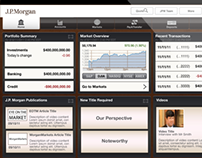 J.P. Morgan iPad app