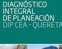 Diagnóstico Integral de Planeación DIP CEA - Querétaro
