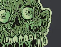 Tarman - Zombie Show Print