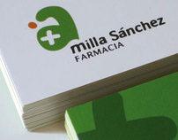 Milla Sánchez Pharmacy | Identity