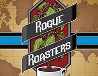 Rogue Roasters Logo & Branding