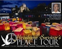 Report Cover for Hiroshima Survivor's Peace Tour