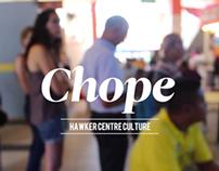 CHOPE: Hawker Centre Culture