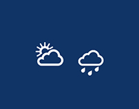 Sutron - Weather Application UI Design