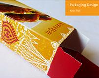 Packaging ~ Kathi Rolls