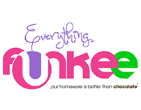 Everything Funkee Homeware Store Branding