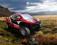 Paneus DKR - Racing Car Image Design