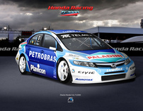 Honda TC2000 - Racing Car Image Design