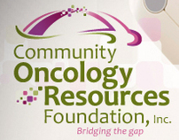 """Community Oncology Resources Foundation"" Logo Project"