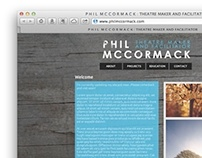 Branding & Website design for Phil McCormack