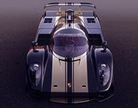 Classical Le Mans Porsche 2
