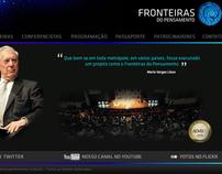 Hotsite / Ads Fronteiras do Pensamento (2010)