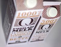 Q Sjokolademelk - Package Re-design