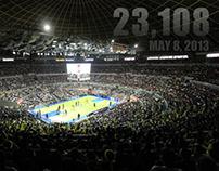 Araneta Coliseum New Record Crowd Attendance