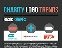 Charity Logo Trends Infographic
