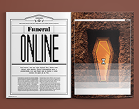 [Design Editorial] Funeral Online