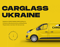 Carglass Ukraine / Design & website development